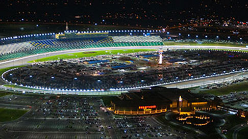 kansas speedway spring race night race