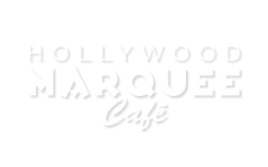 White Marquee Cafe Logo