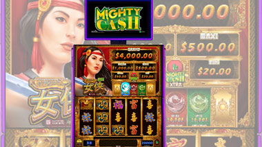 MIghty Cash Slot Machine